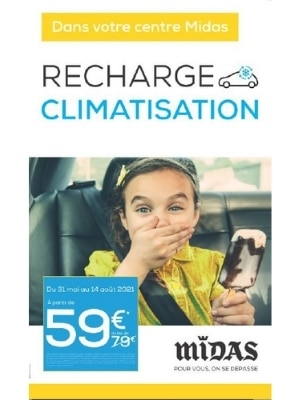 Recharge climatisation 59€